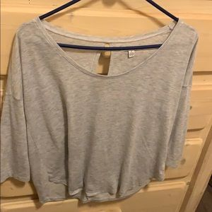 Soft American eagle Keyhole shirt